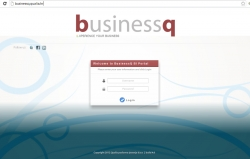 BusinessQ-Portal-Login